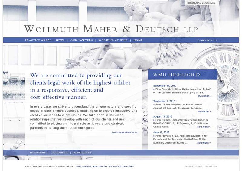 Wollmuth Maher Deutsch LLP