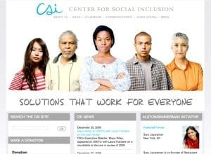 Center for Social Inclusion Web, Tronvig Group