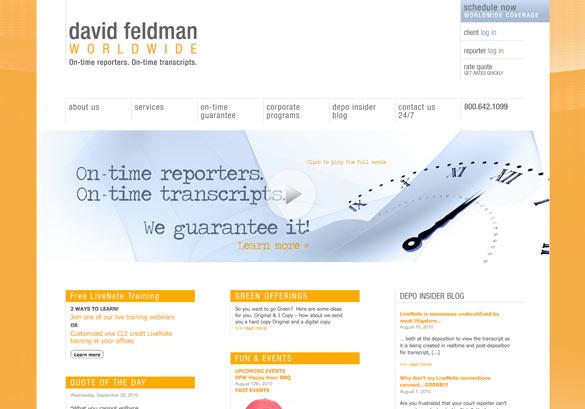 David Feldman Worldwide Website