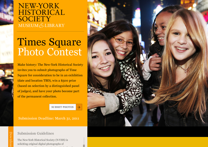 New-York Historical Society Contest Page, Tronvig Group