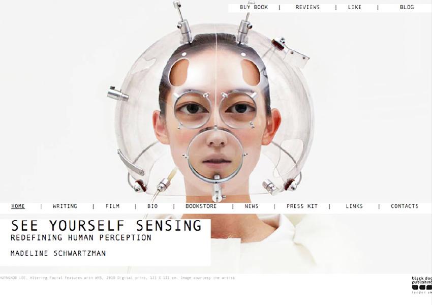 Madeline Schwartzman's See Yourself Sensing Website, Tronvig Group