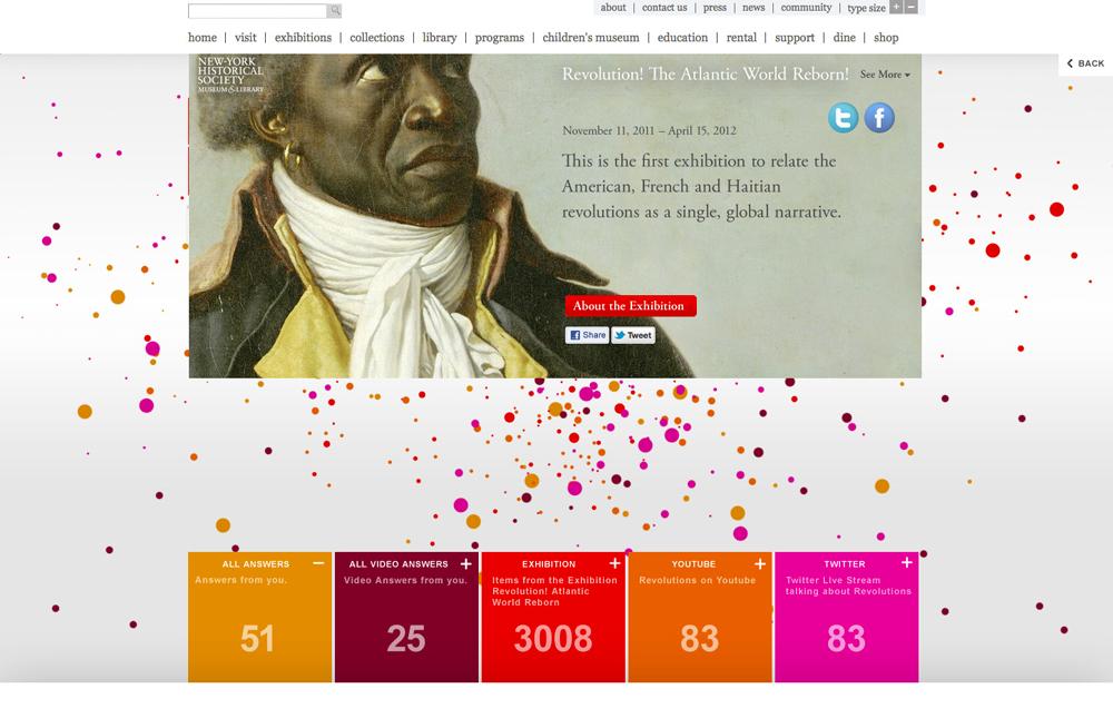 New-York Historical Society, Revolution, Tronvig Group