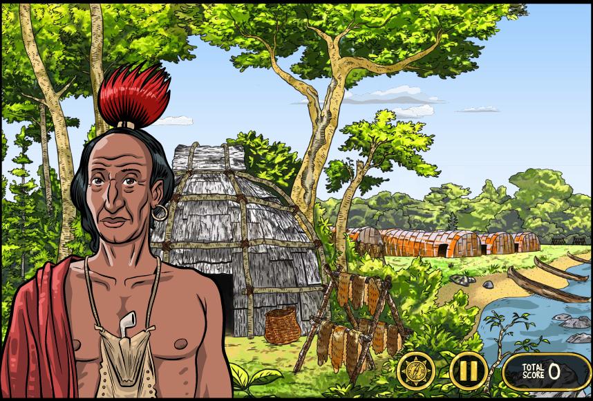 Educational Game for Kids, Lenape Leader, Tronvig Group