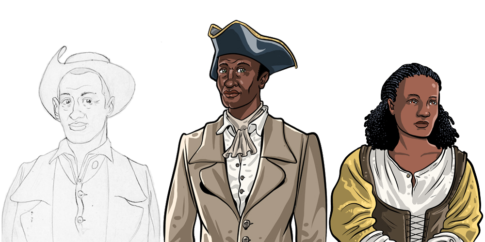 Historical Game Characters for Museums, Tronvig Group