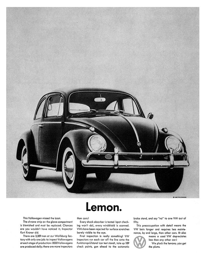 volkswagen lemon