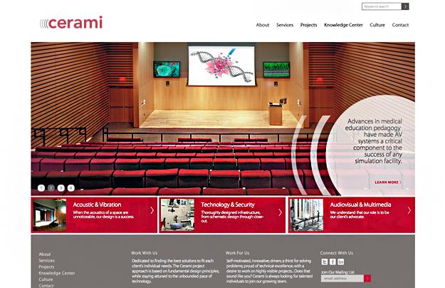 Cerami Associates Website