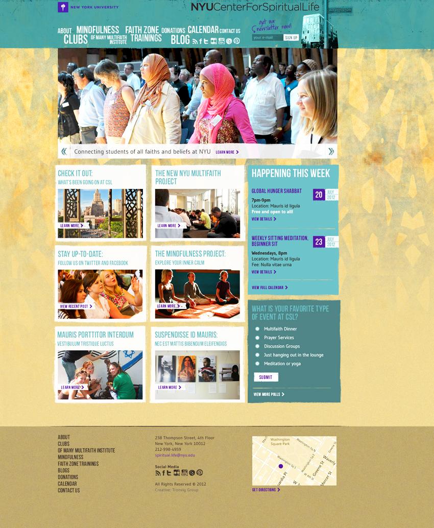 NYU Center for Spiritual Life