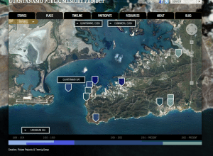 Guantánamo Public Memory Project map, Tronvig Group