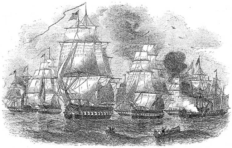 Commodore Perry's second fleet