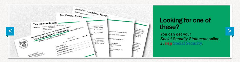 Dear Social Security Administration website