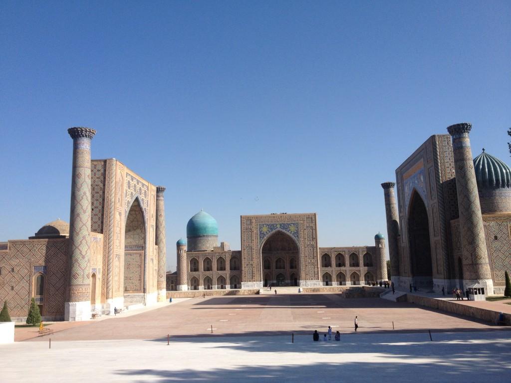 Mongol Rally Samarkand