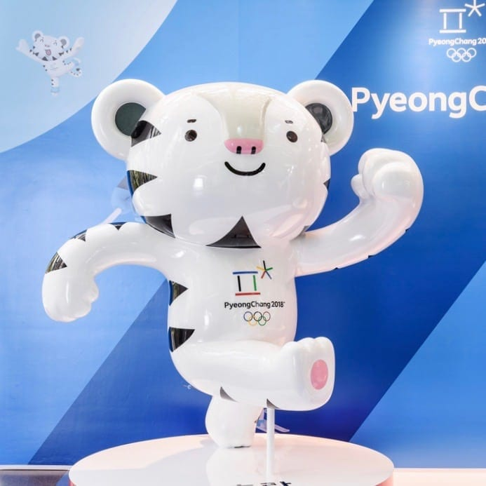 Soohorang Olympic mascots