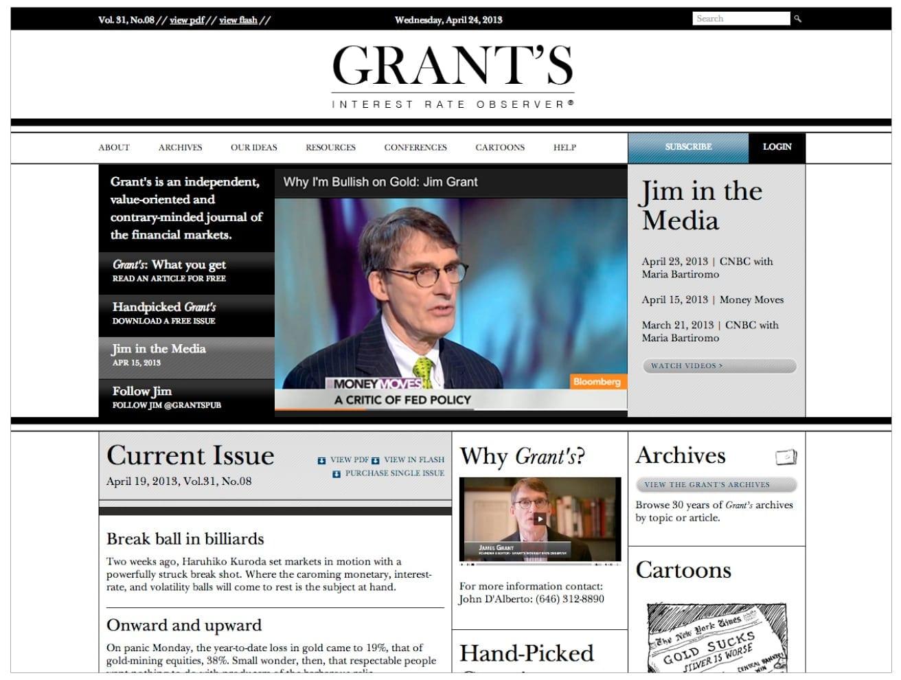 Grant's Interest Rate Observer