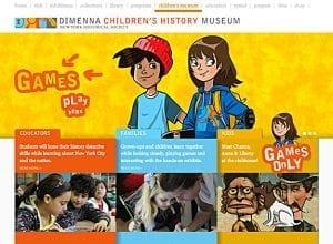 DiMenna Children's History Museum Website
